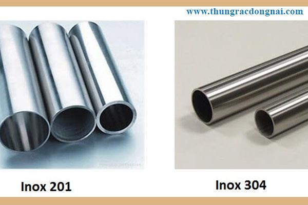 so sánh inox 201 và inox 304